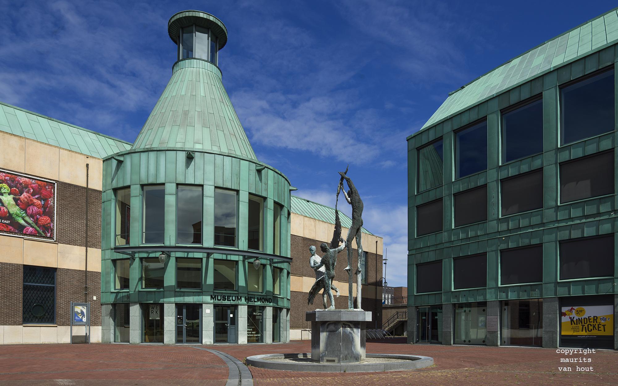 Gemeentemuseum Helmond, voorbeeld van architectuurfotografie door maurits van hout fotograaf