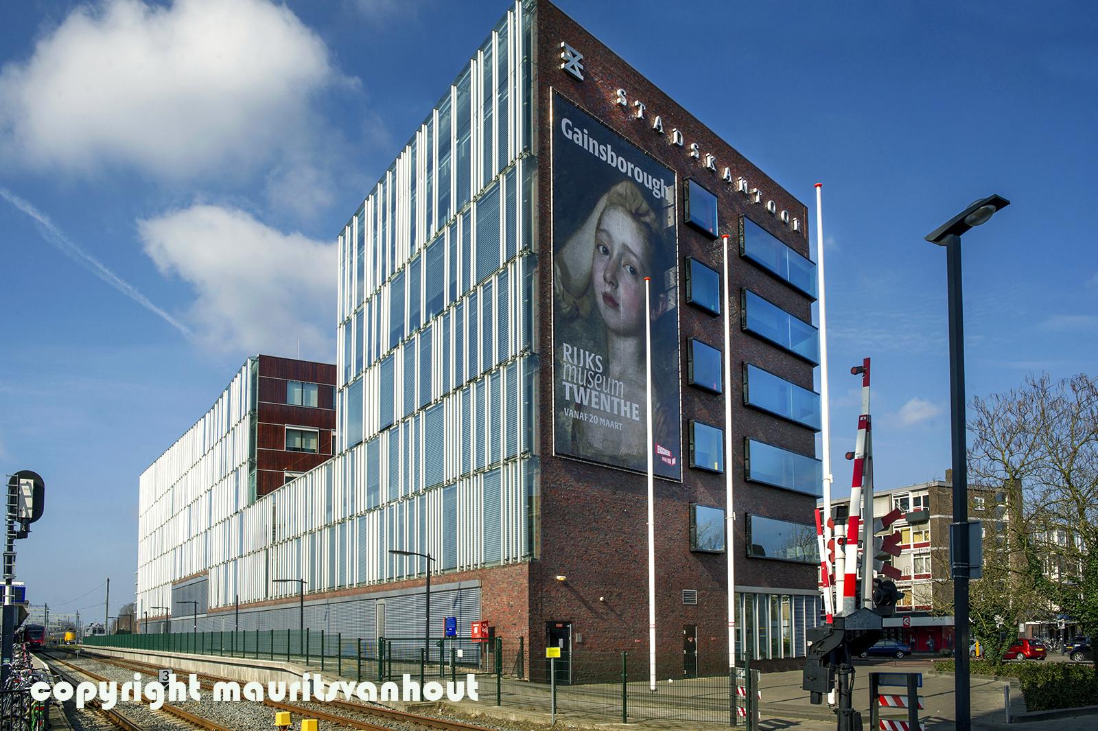 Stadskantoor Enschede, architectuurfotograaf Maurits van Hout