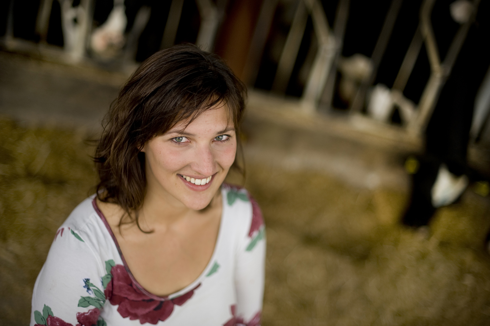 agrarisch portret voor magazine