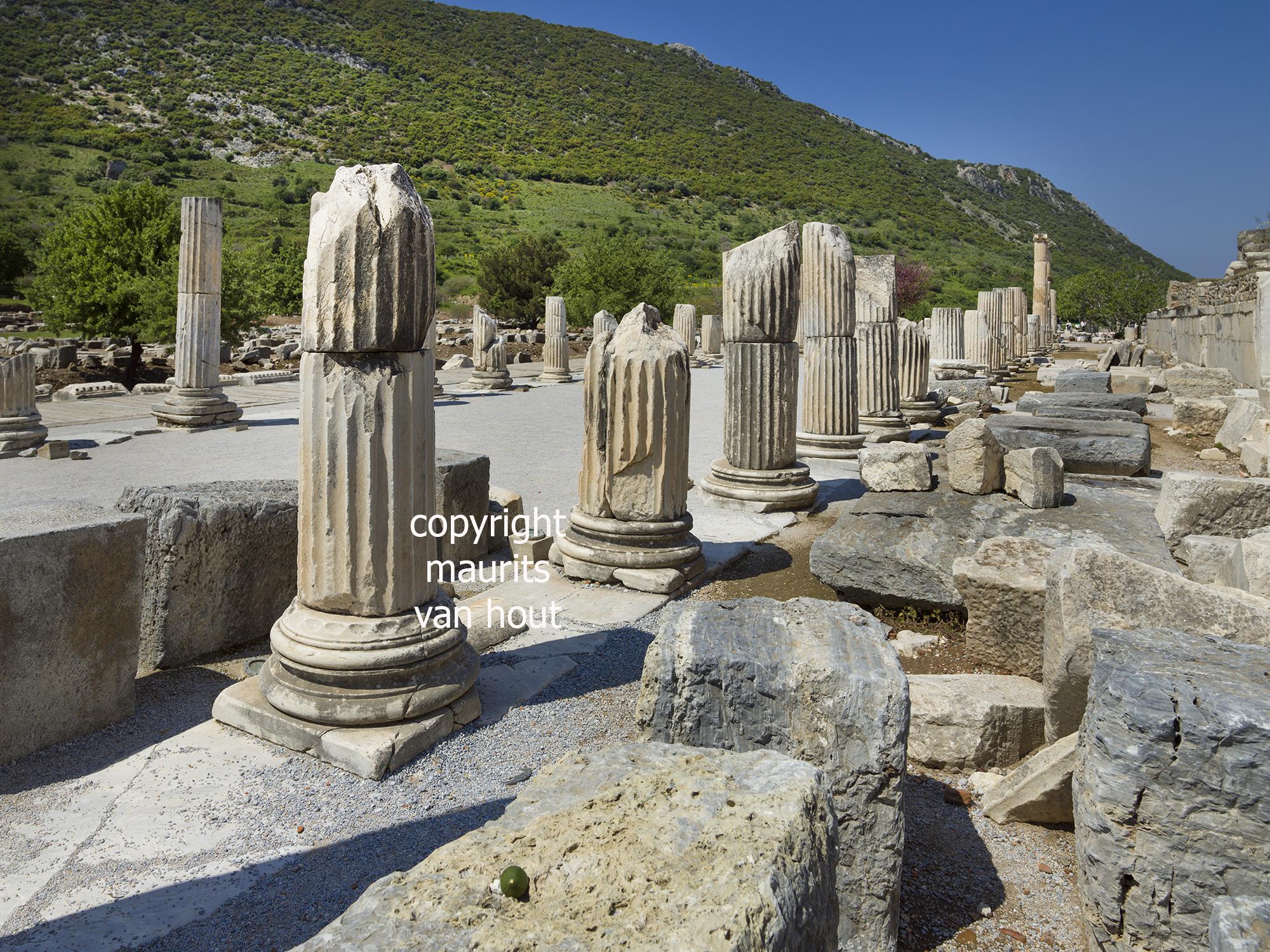 Efeze, Romeinse straat