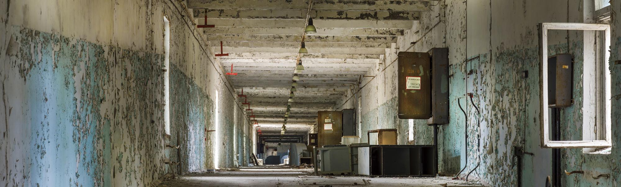 Tjernobyl 2, inside the main building near the Duga