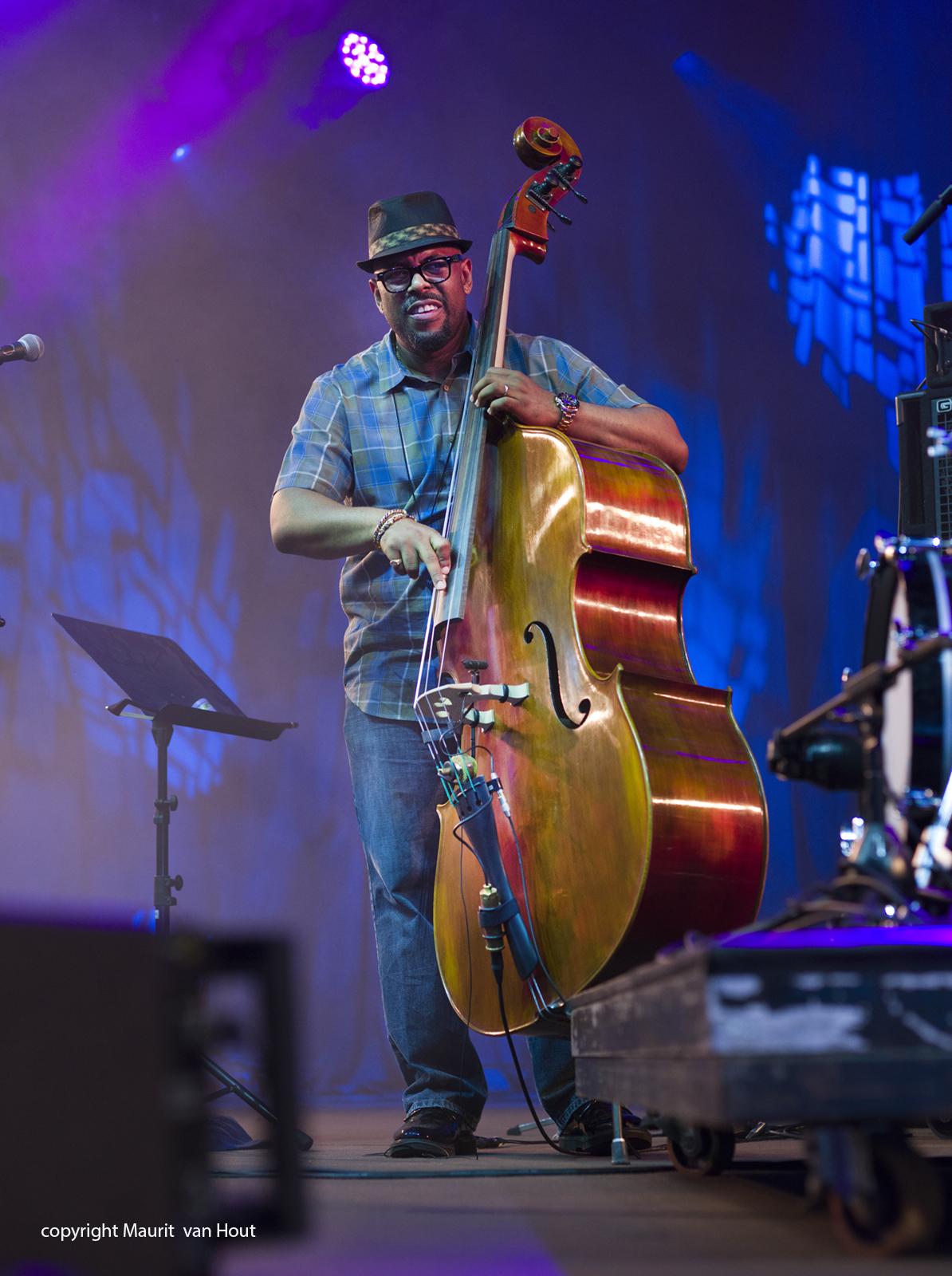 Christian Mc Bride live at Gent Jazz 2017