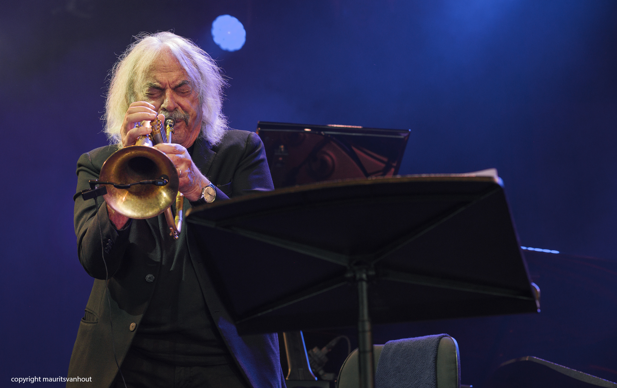 Enrico Rava live at Gent Jazz 2017