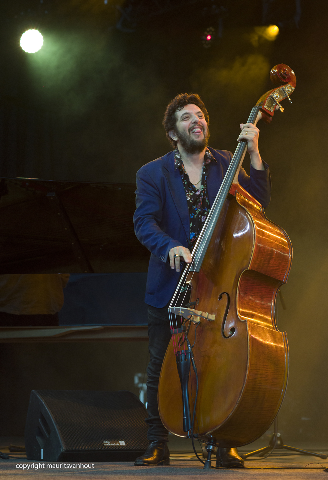 Omer Avital, live at Gent Jazz