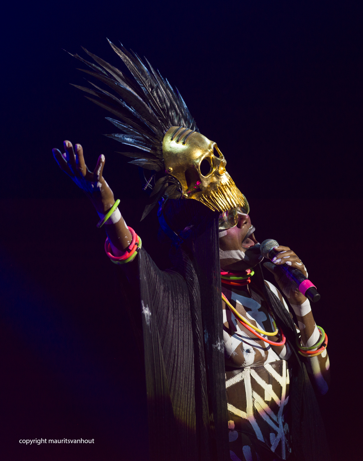 Grace Jones live at Gent Jazz 2017