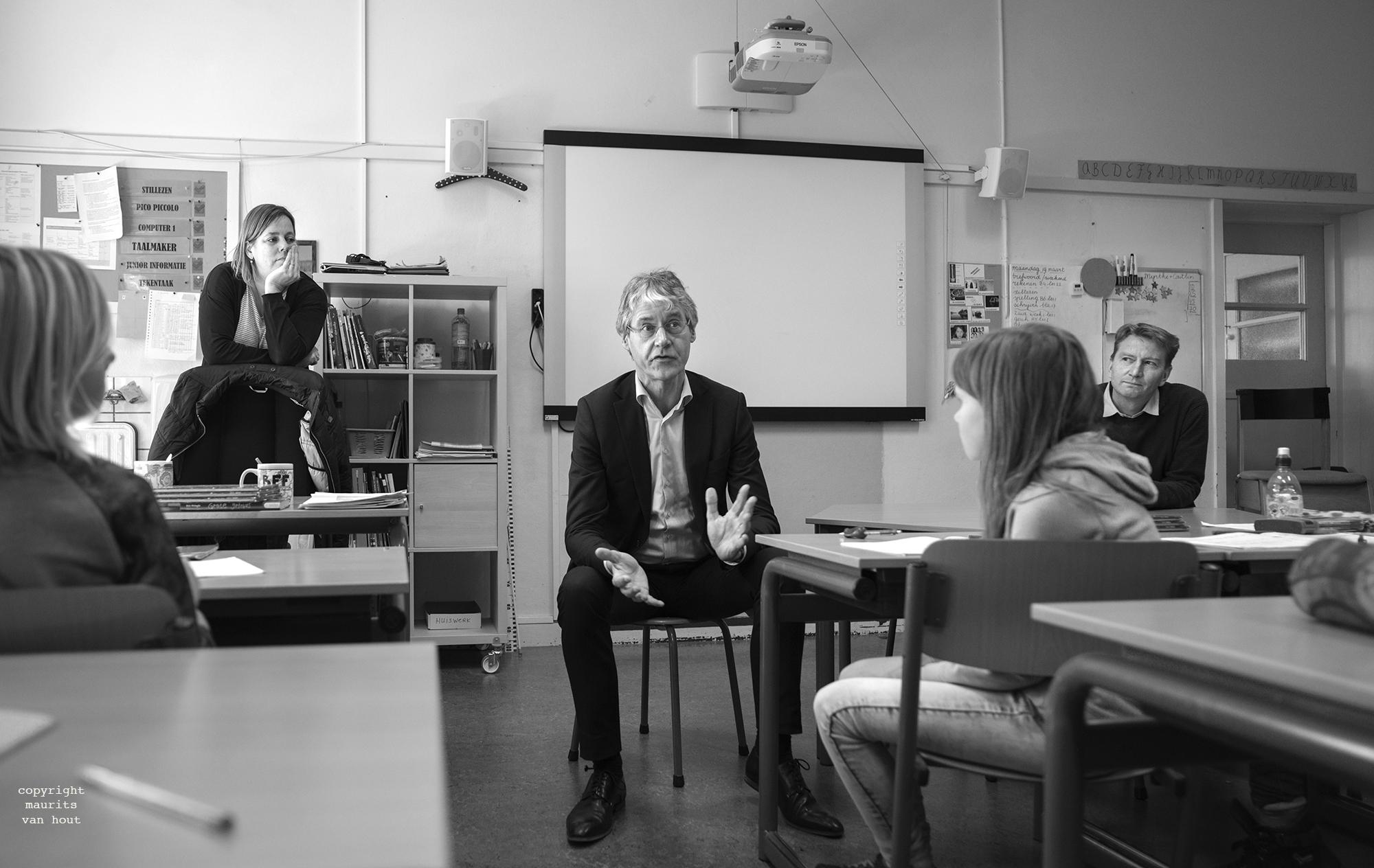 Voorbeeld van nieuwsfotografie in opdracht door fotograaf Maurits van Hout uit Den Haag (Rijswijk)